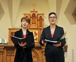 Bachem St Anna Konzert Dagmar Braß und Kornelia Reinke